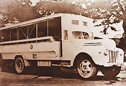 ภาพรถเมล์เมื่อปีพุทธศักราช 2492